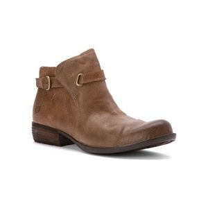 Born Jem Taupe Ankle Boots
